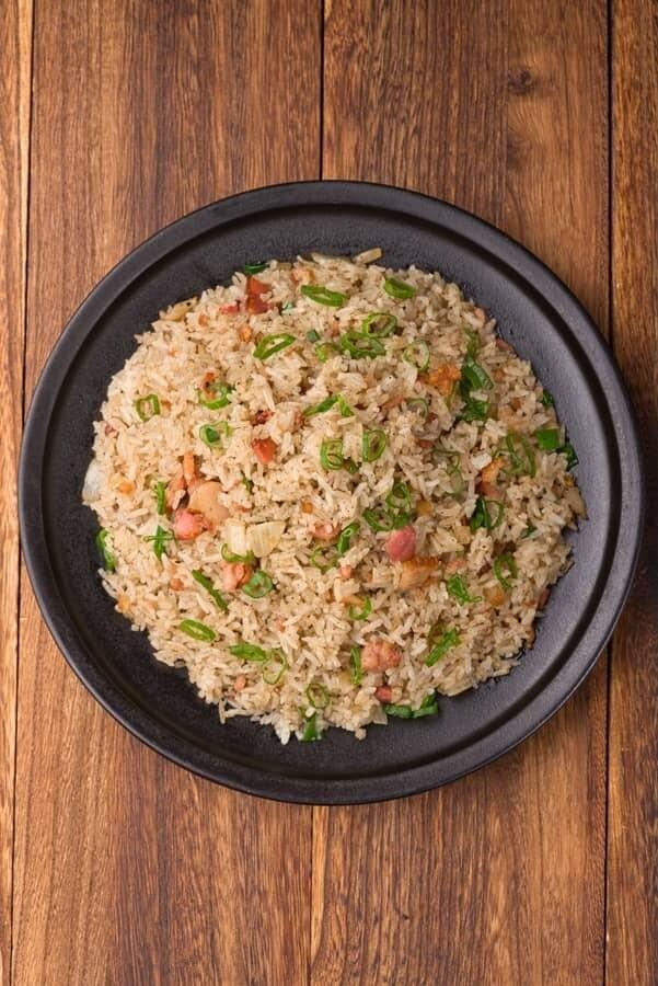 XXCC【小熊川菜】绿茶培根炒饭 Green Tea Bacon Fried Rice (每周二休息)