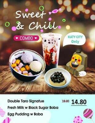 XYX【鲜芋仙】夏日套餐 Sweet&Chill combo