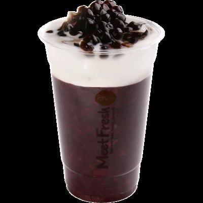 XYX【鲜芋仙】紫米珍珠 Purple Rice Drink w/Boba & Fresh Milk