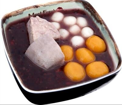 XYX【鲜芋仙】热招牌紫米粥 Signature Hot Purple Rice Soup