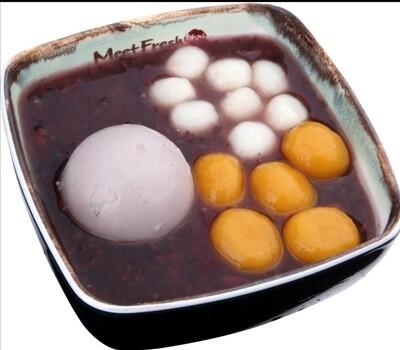 XYX【鲜芋仙】❄冰招牌紫米粥 Signature Ice Purple Rice Soup