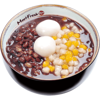 XYX【鲜芋仙】红豆麻糬汤 Red Bean Soup w/Mini Taro Ball & Sesame Rice Ball