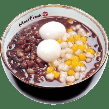 XYX【鲜芋仙】红豆麻糬汤 Red Bean Soup w/Mini Taro Ball & Sesame Rice Ball