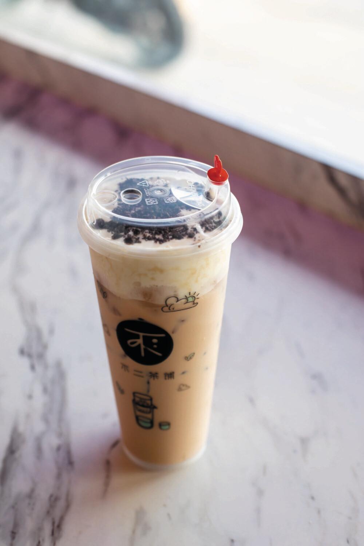 BECP【不二茶铺】奥利奥奶茶 Oreo Milk Tea with Cheese Foam