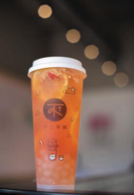 BECP【不二茶铺】VC蜜桃玫玫茶 Peach Pink Drink Yoyo