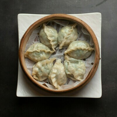 BSY【包十一】韭菜鲜虾鸡蛋蒸饺 Leek, Shrimp, and Egg Steamed Dumpling
