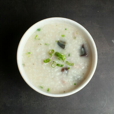 BSY【包十一】皮蛋瘦肉粥 Porridge with Preserved Egg and Lean Meat