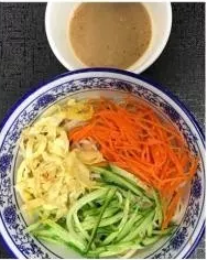 KLM【坤拉面】麻酱凉面/刀削面 Sesame Sauce Cold Ramen (周三休息)