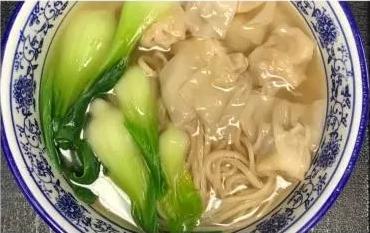 KLM【坤拉面】猪肉虾仁云吞汤面/刀削面(5PC)Pork/Shrimp Wonton Soup With Ramen (周三休息)