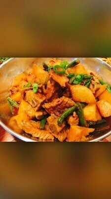ZWCD【滋味成都】砂锅肥肠排骨 Pork Intestines & Rib in Earthen Pot (晚餐不配饭)