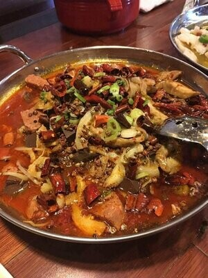 ZWCD【滋味成都】冒荤菜 Meats (晚餐不配饭)