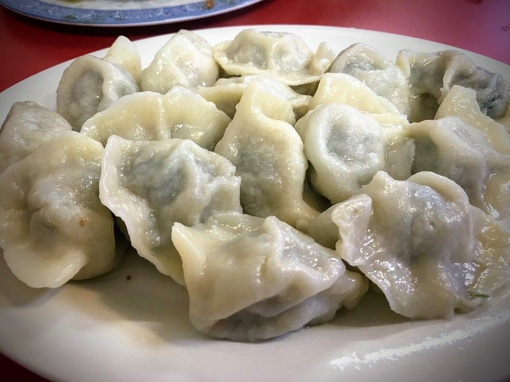 WJX【味佳香】❄❄冰冻韭菜猪肉水饺 Frozen Pork & Leek Dumplings (30 pcs)(每周一休息)