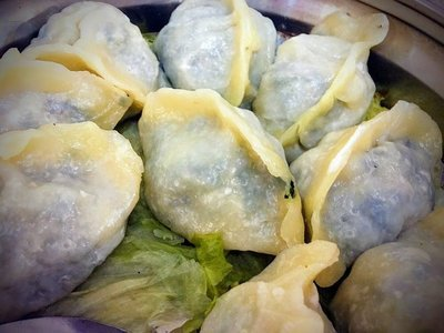 WJX【味佳香】蒸素饺子 Steamed Vegetable Dumplings (10 pcs)(每周一休息)
