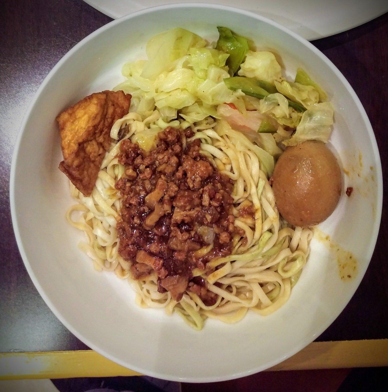 WJX【味佳香】肉燥面  Minced Pork Noodle(每周一休息)