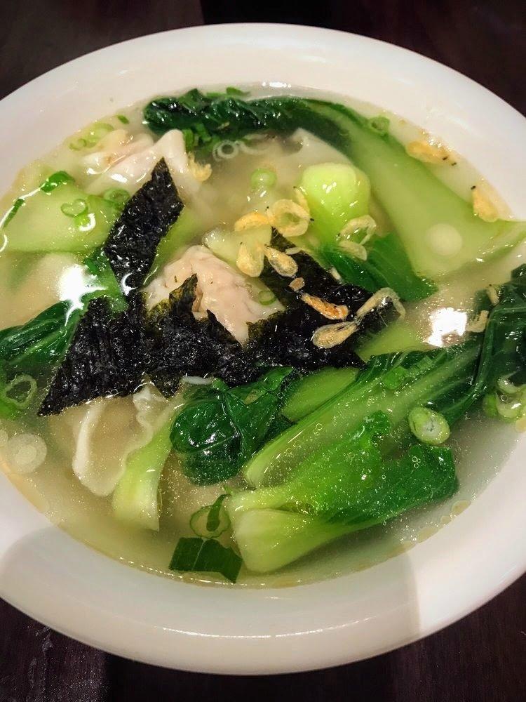 WJX【味佳香】鲜虾小馄饨面 Shrimp Wonton Soup w/ Noodle(每周一休息)