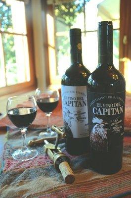 El Vino del Capitán (Biowein/Malbec)