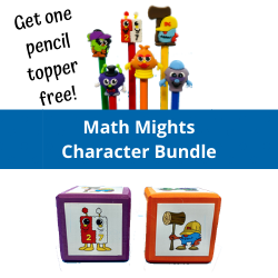 Math Mights Character Bundle