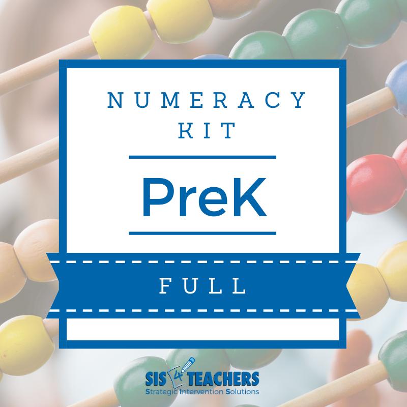 PreK Numeracy Kit - FULL