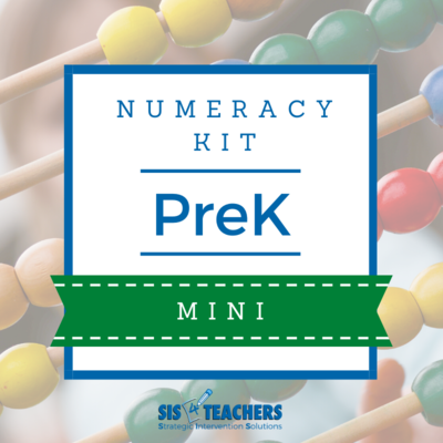PreK Numeracy Kit - MINI