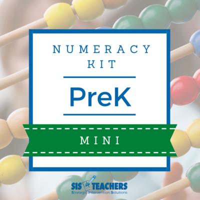 PreK Numeracy Kit - MINI