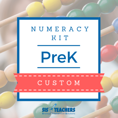 PreK Numeracy Kit - Custom