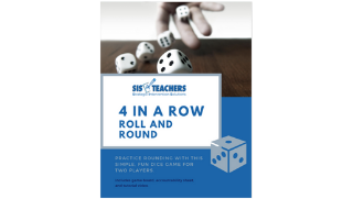 4 in a Row: Roll and Round