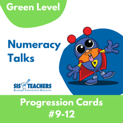 Numeracy Talks - Green Level - Conservation to 20