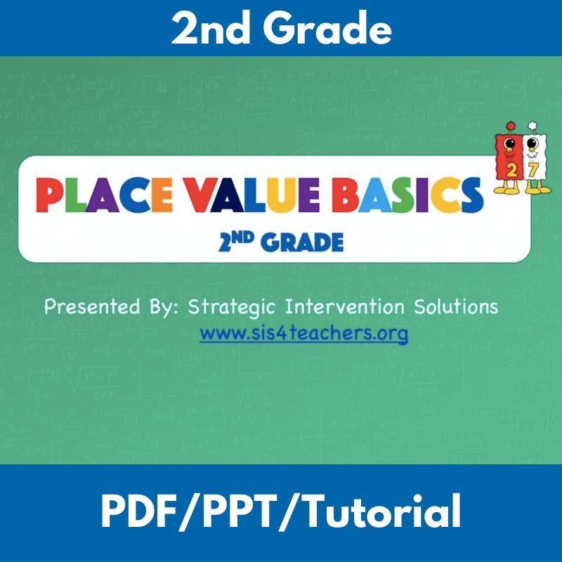 Place Value Basics: 2nd Grade