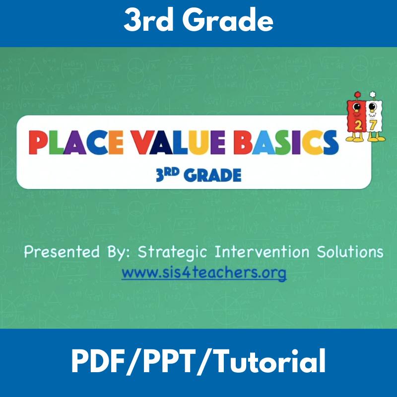 Place Value Basics: 3rd Grade