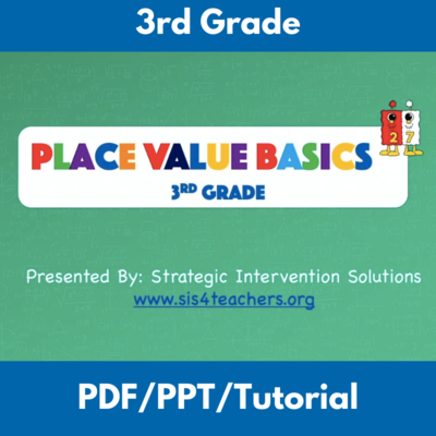 Place Value Basics: 3rd Grade