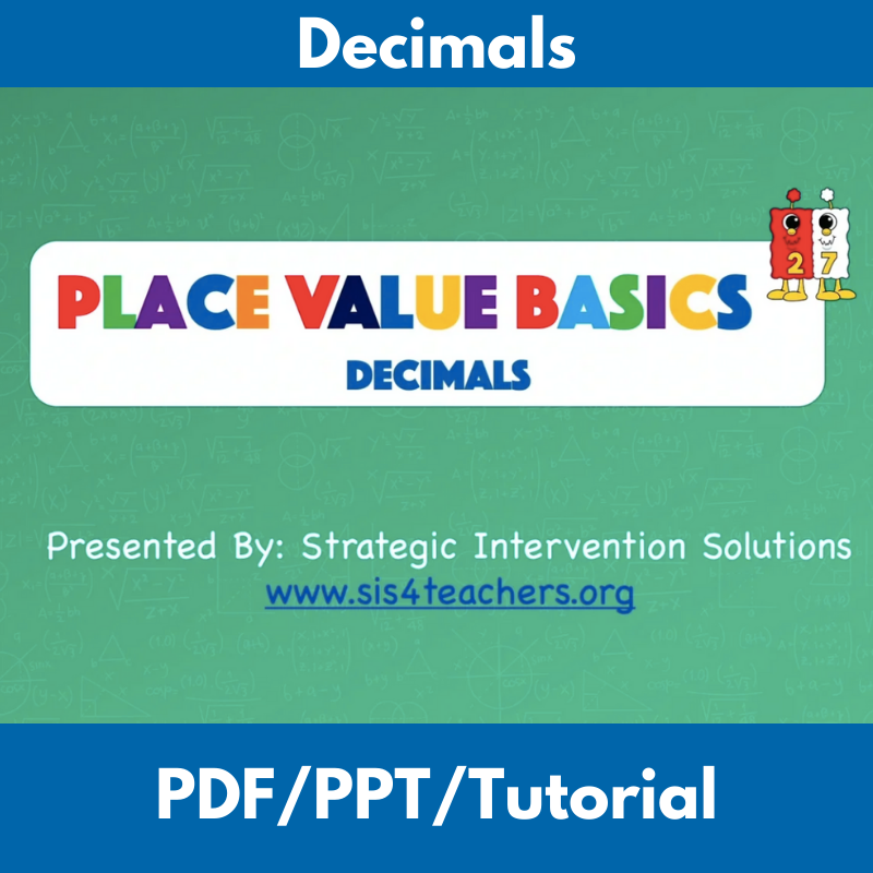 Place Value Basics: Decimals