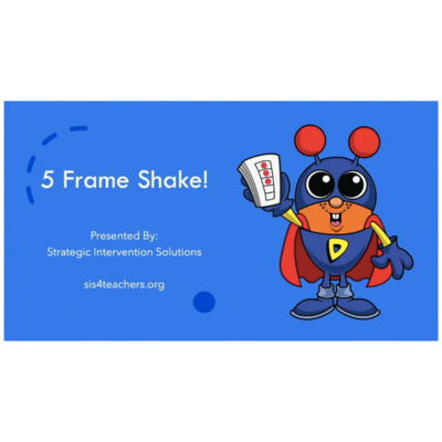 5-Frame Shake! (Numeracy Game)