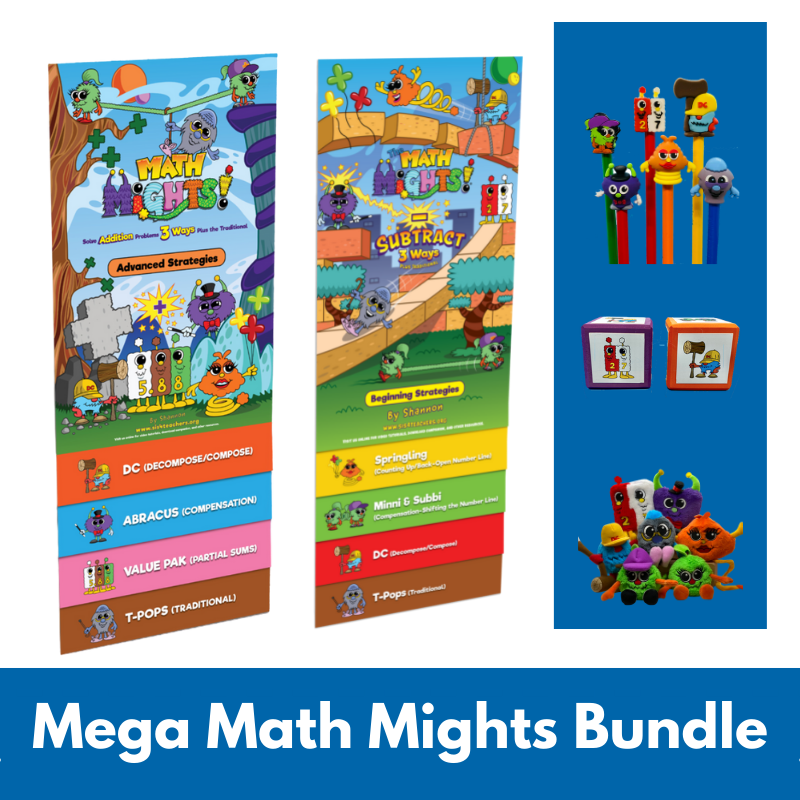 Mega Math Mights Bundle