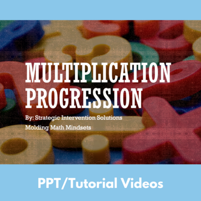 Multiplication Progression Series