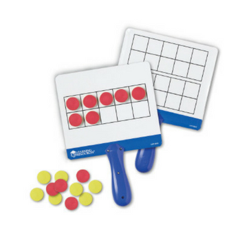 Magnetic Ten Frame with Counters (set of 4)