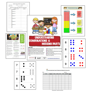 Understanding Combinations and Missing Parts Screener and Tool Pack