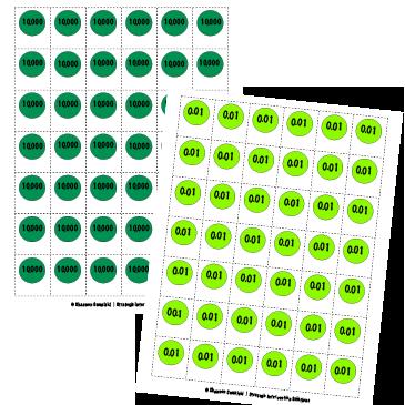 Place Value Discs