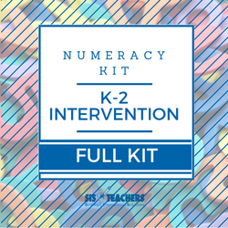 K-2 Intervention Numeracy Kit - FULL
