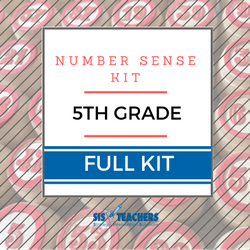 5th Grade Number Sense Kit - Full