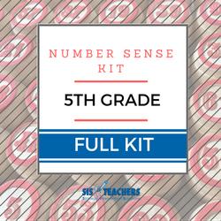 5th Grade Number Sense Kit - Full