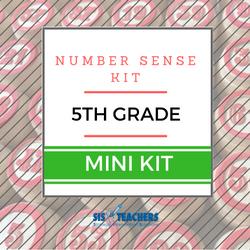 5th Grade Number Sense Kit - Mini
