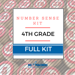 4th Grade Number Sense Kit - Full