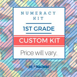 1st Grade Numeracy Kit - Custom