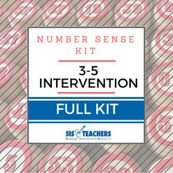 3-5 Intervention Number Sense Kit - FULL