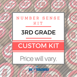 3rd Grade Number Sense Kit - Custom