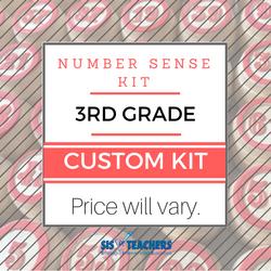 3rd Grade Number Sense Kit - Custom