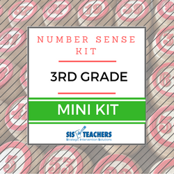 3rd Grade Number Sense Kit - Mini