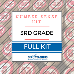 3rd Grade Number Sense Kit - Full
