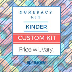 Kindergarten Numeracy Kit - Custom