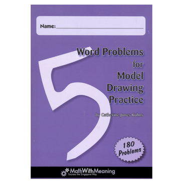 Word Problems for Model Drawing: Level 5